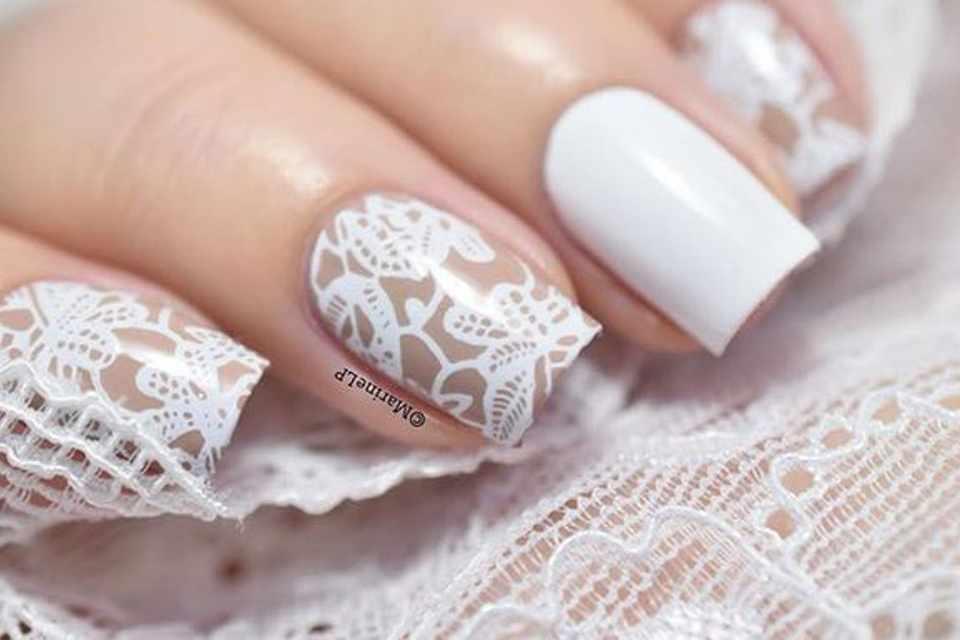 uñas bodas decoracion diseños blancas